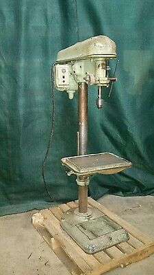 Delta 17 inch drill press 16x20 table 3 phase