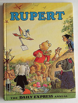 1972 Rupert the Bear Annual from Daily Express