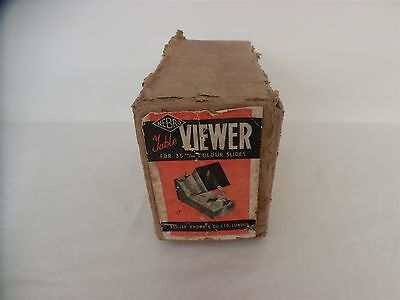 Vintage NEBRO Table Viewer for 35mm colour slides ( Neville Brown )