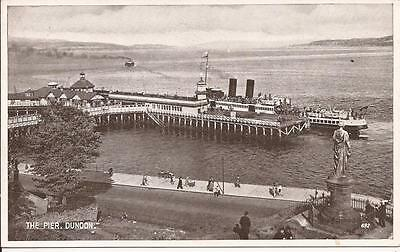 Old Postcard The Pier Dunoon 1960