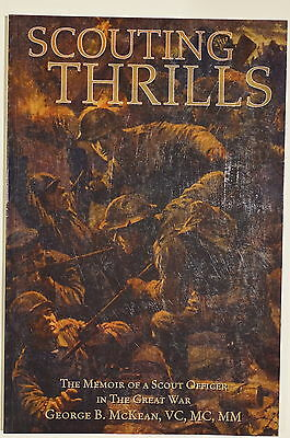 WW1 Canadian McKean Royal Montreal 14 Battalion Scouting Thrills Reference Book