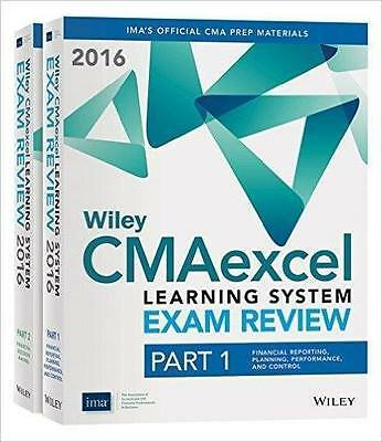 Wiley CMA excel Learning System Exam Review part1 part2