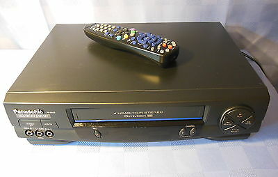 PANASONIC PV-9453-K Hi-Fi Stereo VHS VCR Video Cassette Player WORKS EXCELLENT!