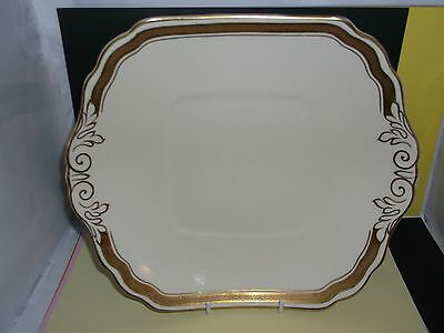 "S.Hancock & Sons CORONAWARE 10"" Art Nouveau Dinner Plate (Tray for a Tureen?)"