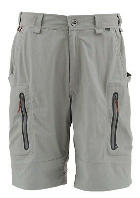 Simms ARAPAIMA Shorts ~ Mineral NEW ~ Size 40W ~ CLOSEOUT