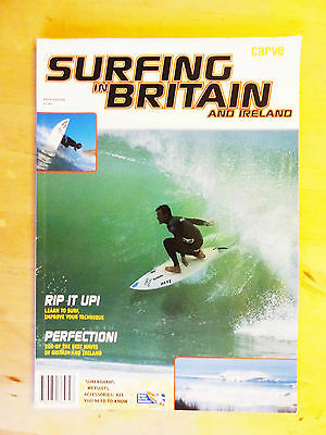 Surfing In Britain And Ireland Fifth Edition Carve Magazine Travel Guide 1999