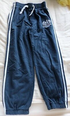 Tu Boys Girls Unisex Blue Tracksuit Trousers  Size 10 years