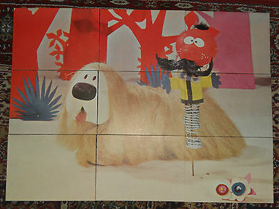 Vintage Original 1970s Dougal's Bedtime Story Cards Magic Roundabout Collectable