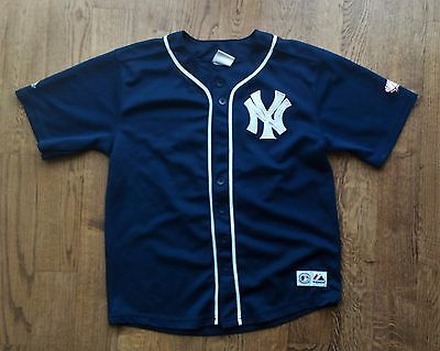 MLB New York Yankees #24 Robinson CANO jersey by Majestic Youth M