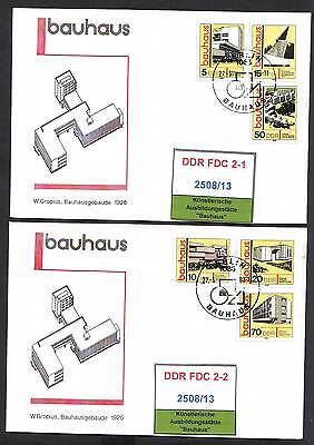 DDR, FDC 2508/13 gestempelt, s.scan