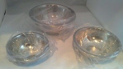 3 PC Stainless Steel Mixing Bowls