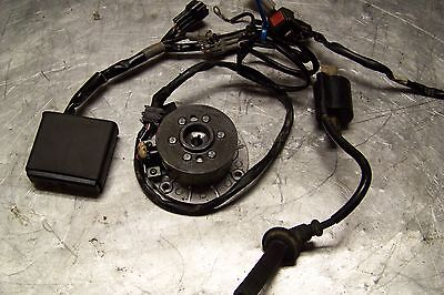 Yamaha yz 250 f Yz250F Stator CDI Coil kill switch complete ignition system