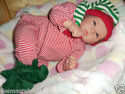Reborn Sophia Madelina by Bonnie Brown. Christmas Special