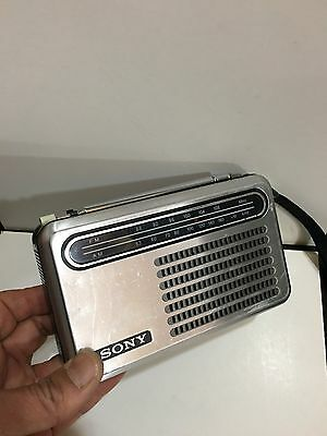 VINTAGE RADIO MODEL SONY 2 BANDS  MW(-AM)  -FM 1960S-1970s • EUR 41,50