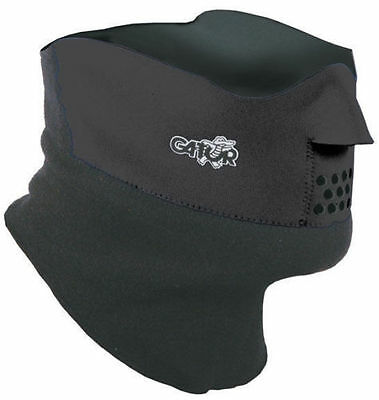 Gator Duo Face Protector ~ Face Mask Cycling ~ Ski Face Protector ~ Black S,M,L