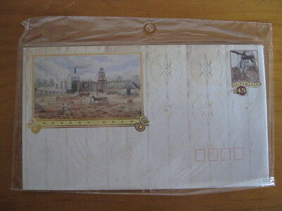 Australia Pre Stamped Envelopes Desert Gold 1992 Set of 4