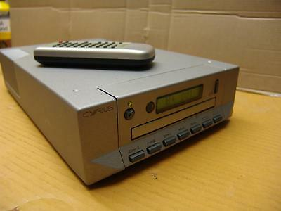 Cyrus CD 7 CD Player - Quartz Finish-new laser fitted nice condition.........