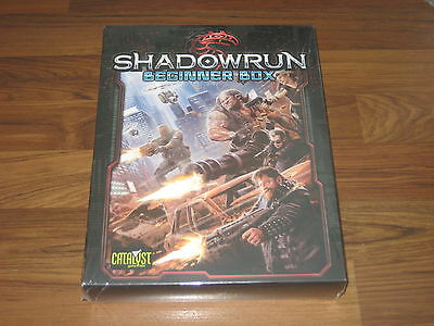 Shadowrun 5.Edition Beginner Box Set Catalyst Game Labs Neu New Sealed 2014
