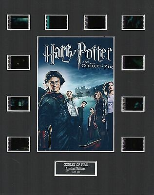 * Harry Potter The Goblet of Fire 35mm Film Cell Display *