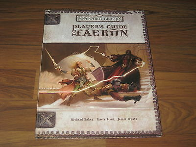 D&D 3.0 / 3.5 Forgotten Realms Player's Guide to Faerun Hardcover WotC 88647