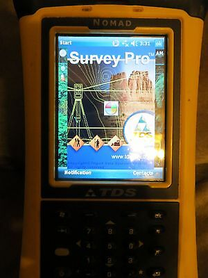 Trimble Nomad Data Collector Pda W/ Tds Survey Pro Std, Pro & Gps Registered