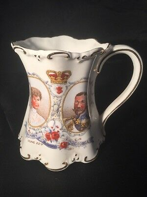 Commemerative Mug, King George V & Queen Mary, Silver Jubilee 1910-1935, Perfect