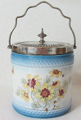 English China and EPNS Biscuit Barrel