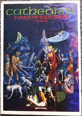 CATHEDRAL - FOREST OF EQUILIBRIUM 1991 full page press ad