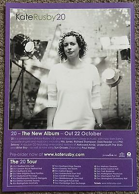 KATE RUSBY - 20 2012 full page UK press ad