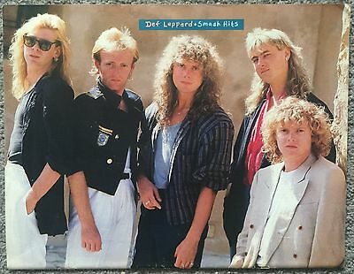 DEF LEPPARD - full page magazine poster