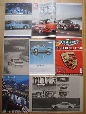 Porsche 911 1970s-90s Reports/ Adverts, 993 Buying Guide, Carrera RS , Turbo etc