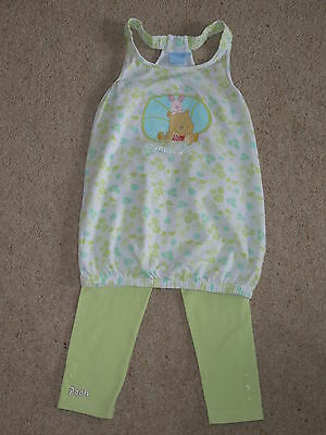 Disney Winnie the Pooh, Piglet 2 - 3 years top, tunic, leggings, immaculate