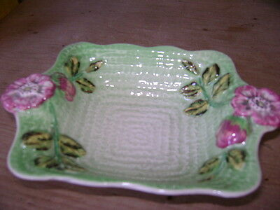 Antique Shorter And Sons Staffordshire Square Dish Perfect
