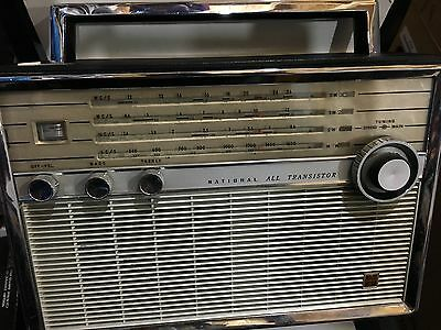 Vintage  World Radio National   4-Bands  Mw(-Am) Sw1-Sw2-Sw3 -1960S Rare