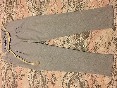 Womens grey casual trousers size M medium