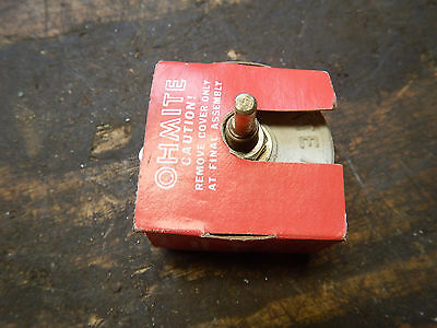 New Old Stock, Ohmite Rheostat