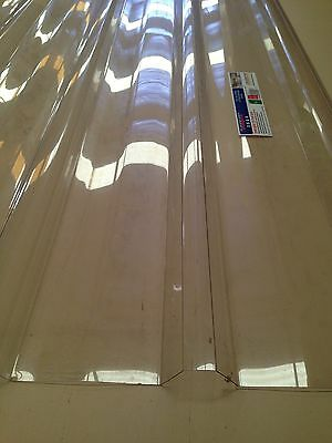 Polycarbonate Roofing Sheets 6.0 M Lengths - Clear