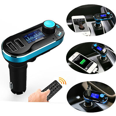 Wireless Bluetooth FM Transmitter MP3 Player Car Kit Charger For iPhone 6 6 Plus