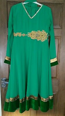 Stunning Bollywood indian suit green