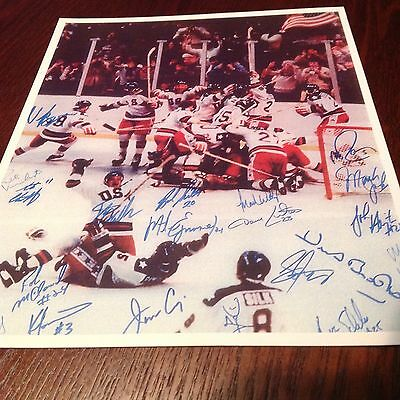 Miracle On Ice Print, 1980 USA Olympic Games Victory