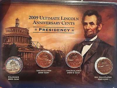 2009 ULTIMATE LINCOLN ANNIVERSARY CENTS -Coins (PRESIDENCY)
