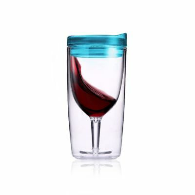 TraVino Spillproof Wine Sippy Cup Blue – porta tumber vino