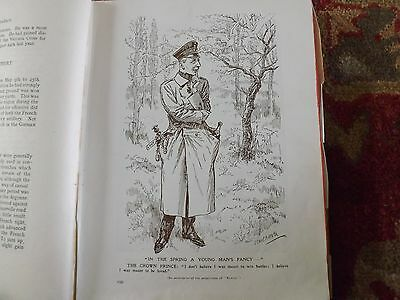 Ww1 War Record Illustration 1914-1918 A Young Man's Fancy Punch Illustration