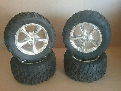 Rc Thunder Tiger 1/8 Offroad Wheels And Tyres