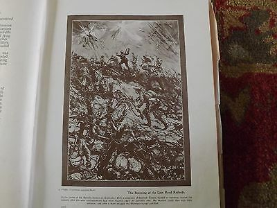 Ww1 War Record Illustration 1914-1918 The Storming Of The Loos Road Redoubt