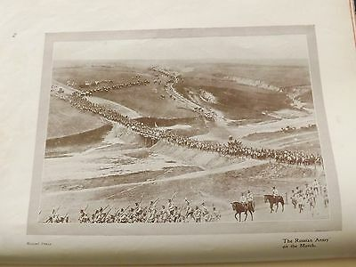 Ww1 War Record Illustration 1914-1918 Russian Army On The March