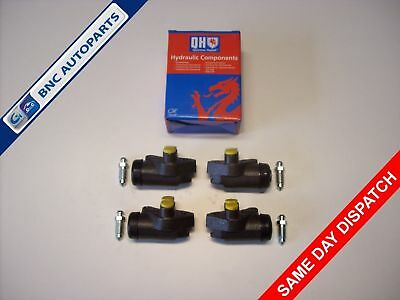 FRONT BRAKE CYLINDER SET OF 4 FORD PREFECT 100E  - from 1957 to 1962 -  QH