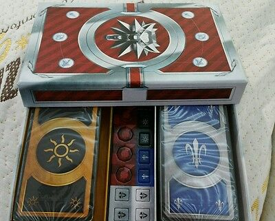 The Witcher 3 Blood and Wine PS4 Gwent Cards Set Nilfgaard  & Northern Realms