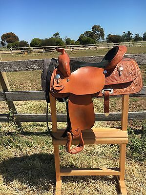 Saddle Rack / Stand And Bridle Holder
