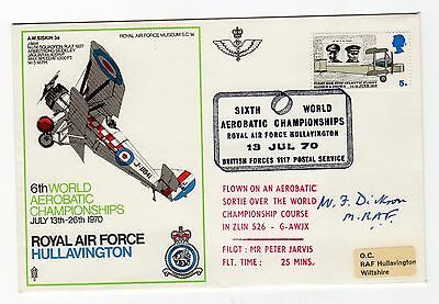 Marshal of the RAF Sir William Dickson 1898-1987 WW2 RAF Commander. Signed cover